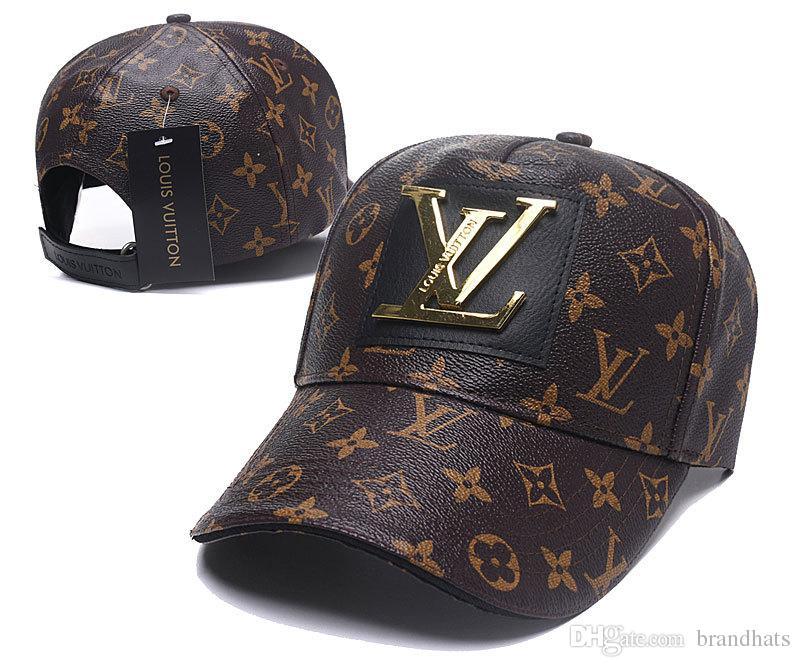0a0cd45181f8a 2018 Designer Mens Baseball Caps New Brand Tiger Head Hats Gold Embroidered  Bone Men Women Casquette Sun Hat Gorras Sports Cap Drop Shipping Fitted  Hats ...