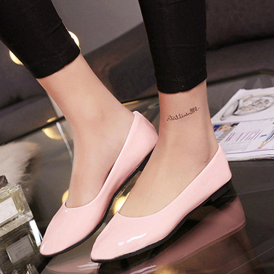 35e2be4a90 Compre 2019 Mulheres Sapatos Senhoras Deslizamento Em Sapatos Único  Sandálias Casuais Sapatos Coloridos Tamanho Sandales Femme 2018 Nouveau    A40 De ...
