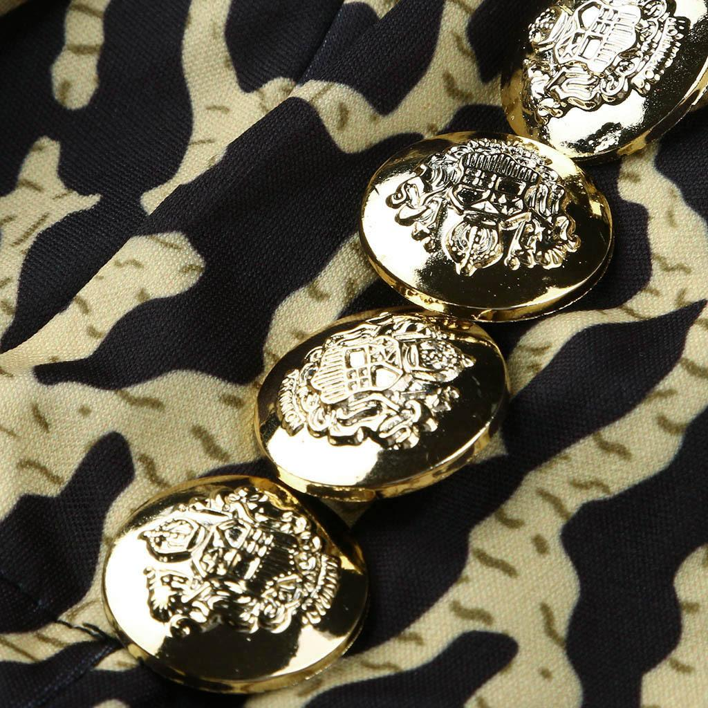 2020 New Sexy Feminino Jacket Autumn Slim Fit Leopard Jacket Imprimir casaco de lã mangas compridas Cardigan Mantenha casaco quente chaqueta mujer