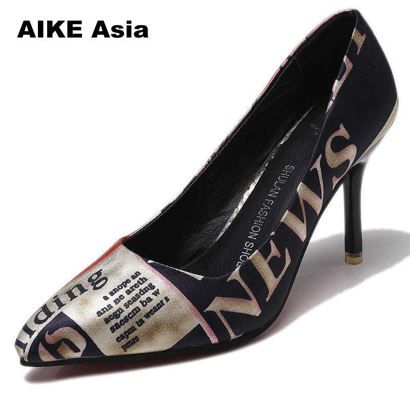 ccc87a12c2 Designer Dress Shoes 2019 Women Pumps Leopard Zebra Pattern Pointed Toe  Thin Heels Woman Platform Designer Luxury Zapatos De Mujer Wedges Moccasins  For Men ...