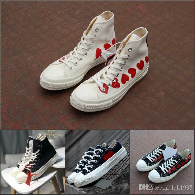 e9dbd8e69f4 2018 New Chinatown Market X 1970s Smiling Face Canvas Shoes Smile Designer  Skate Shoes Men Women Casual Sneakers Chaussures Best Shoes Italian Shoes  From ...
