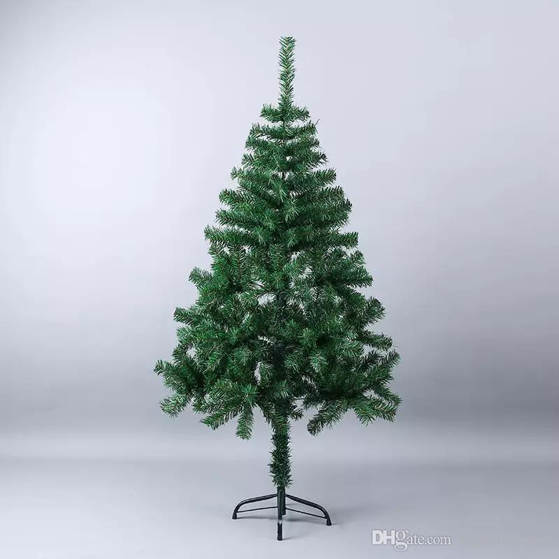 3f9b3d116ed 150cm Luxury Artificial Plastic Christmas Tree DIY Decoration Iron Base Xmas  Tree Hotel Family New Year Encrypted Christmas Best Christmas Decorations  Best ...