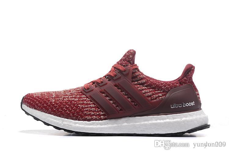 Adidas 2019 High Quality Ultraboost 19 3.0 4.0 Zapatos para correr Hombres Mujeres Ultra Boost 5.0 Runs Blanco Negro Zapatos de diseñador atlético