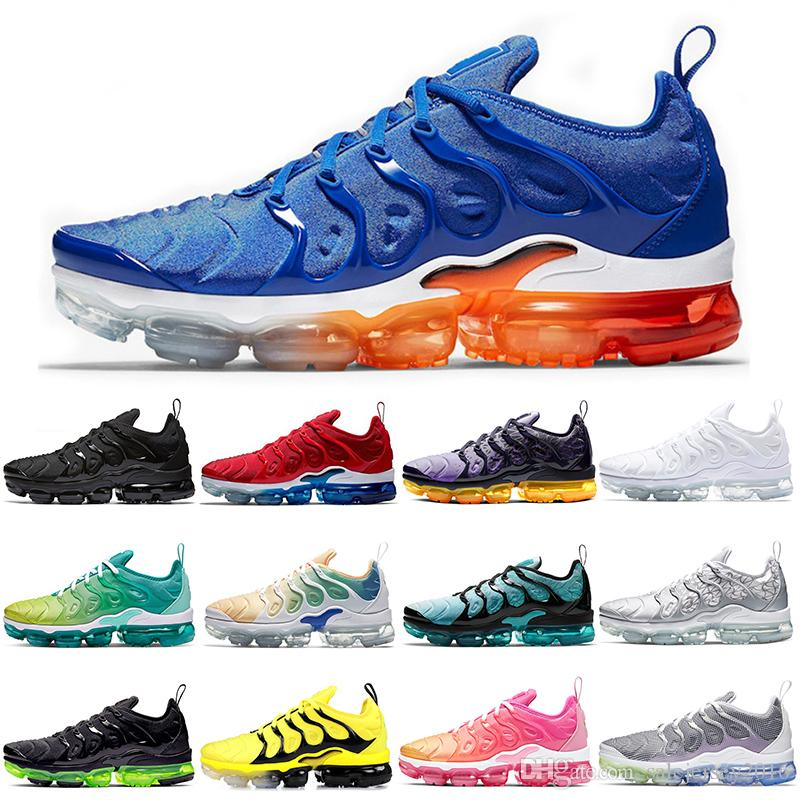 Hot Sale Running Shoes Men Women Rainbow Volt Bumblebee Game Royal Mens Trainer Athletic Sport Sneakers Size 5.5-11