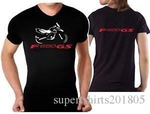T shirt for bike Design F650GS Tshirt F650 GS motorcycle F 650 GS moto