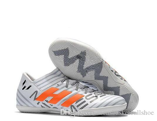 3ec834fe0 2019 High Quality 2019 Nemeziz Messi Tango 17.3 IC Soccer Shoes Mens  Football Boots Indoor Soccer Cleats Size 39 45 Sneakers From  Mensbasketballshoe, ...