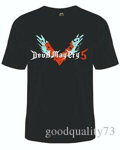 Devil May Cry T Shirt Super Hero Vest Video Games Tee PS4 Switch Boooooom DMC5
