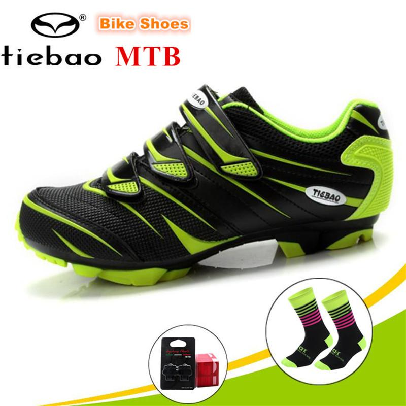 23cacb2595d TIEBAO Cycling Shoes Mtb Men Sneakers Women Racing Bicycle MTB Shoes  Mountain Bike Sneakers Professional Self-locking Breathable Cycling Shoes  Cheap Cycling ...