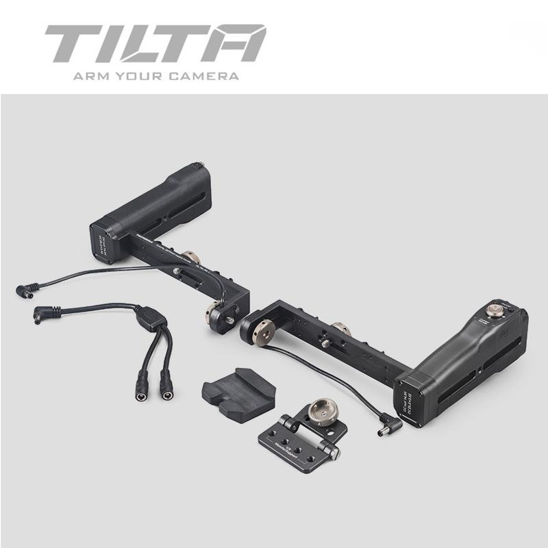 TILTA Bluetooth Dual Grip Battery Handles w/ ON/OFF button for G1 G2 G2X 3-AXIS Gimbal stabilizer Gravity G Series