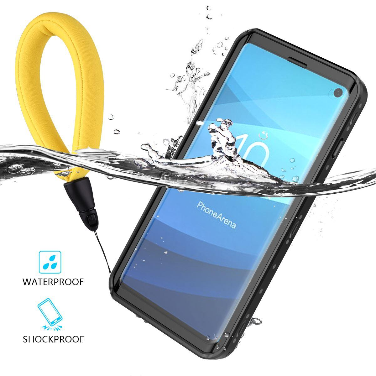 wholesale dealer c12ac 29712 wholesale Swimming IP68 Waterproof Case For Samsung Galaxy S10 Full  Protection Drop-proof Cover For Samsung S10 Plus Outdoor Capa