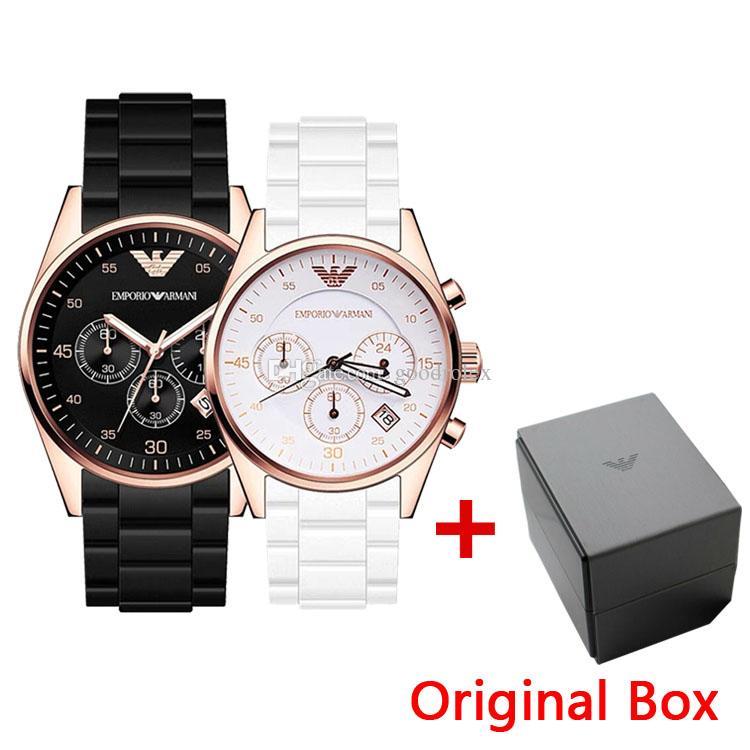 4e460b6a97e3 Compre Reloj Deportivo Para Hombre De Calidad Superior AR5905 AR5920 ...