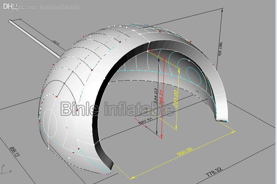 Bar Haus aufblasbares weiß Iglu Marquee Event Kuppel Iglu Disco-Party Pavillon LED Zelt mit Ventilator zum Verkauf