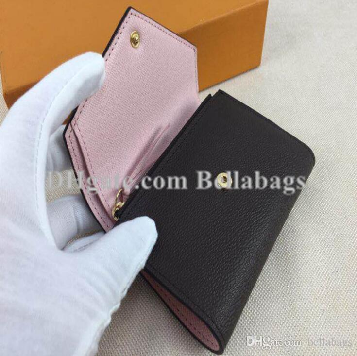 Hot sale Discount Original Box Purse Lady Wallet Women brand designer wholesale discount drop shipping Christmas gift