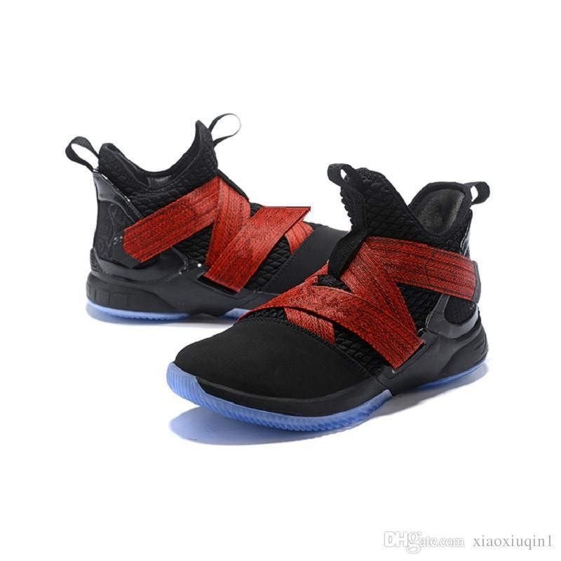 b3429a5f923b 2019 New Mens Lebron Soldier 12 Basketball Shoes For Sale Flowers ...
