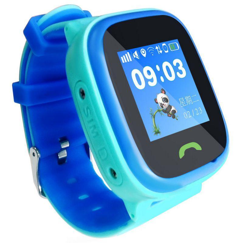 venta directa de fábrica el precio más bajo más cerca de Dispositivo de seguridad para niños Smart Watch IP67 a prueba de agua GPS  1.22 pulgadas Pantalla táctil Dispositivo de reloj de pulsera noctilucente  ...