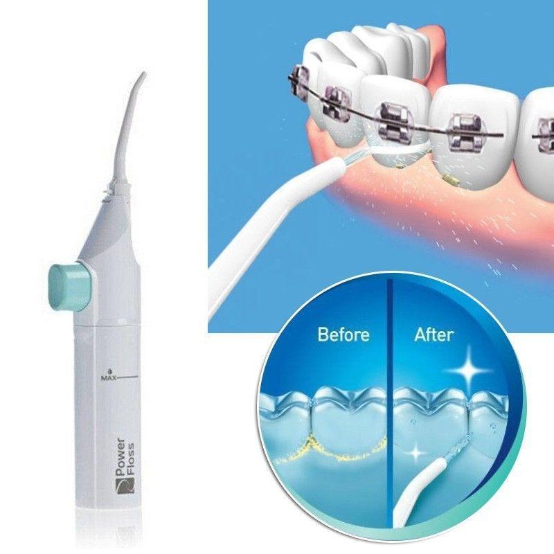 fff6b9404 Compre Higiene Dental Irrigador Oral Fio Dental Escavadeira De Água De  Alimentação Oral Jato De Limpeza Irrigador Dente Interdental Dente Escova  D19011606 ...