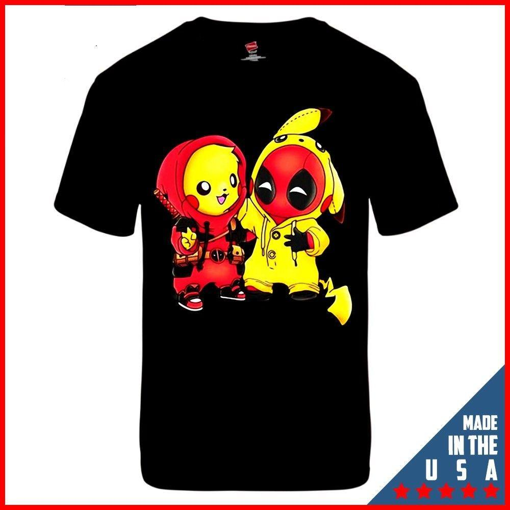 f304cb7f LImited Neu Funny T Shirt Pikapool Pikachu Deadpool Tee Black T Shirt S 2XL  Men Women Unisex Fashion Tshirt Cheap T Shirts Long Sleeve T Shirts From ...
