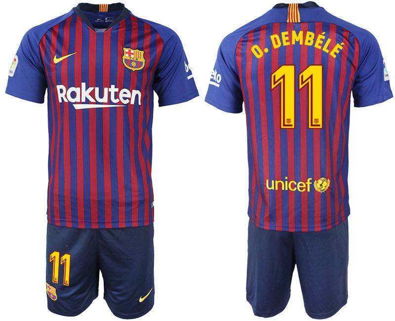 the best attitude c3fd8 59cfd 2018 2019 FC Barcelona MESSI Soccer Jersey third away pink man 18 19 Suárez  DEMBELE kid football shirt with sock