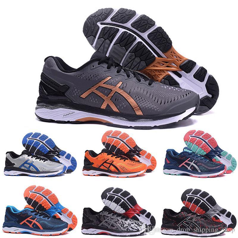 ce9e1893 Gel Asics gel Gel-Kayano 23 T646N Hombre Zapatillas de running Mujer  Traines Sneakers Gris Verde Azul Naranja Triple Negro Blanco Zapatilla de  deporte ...