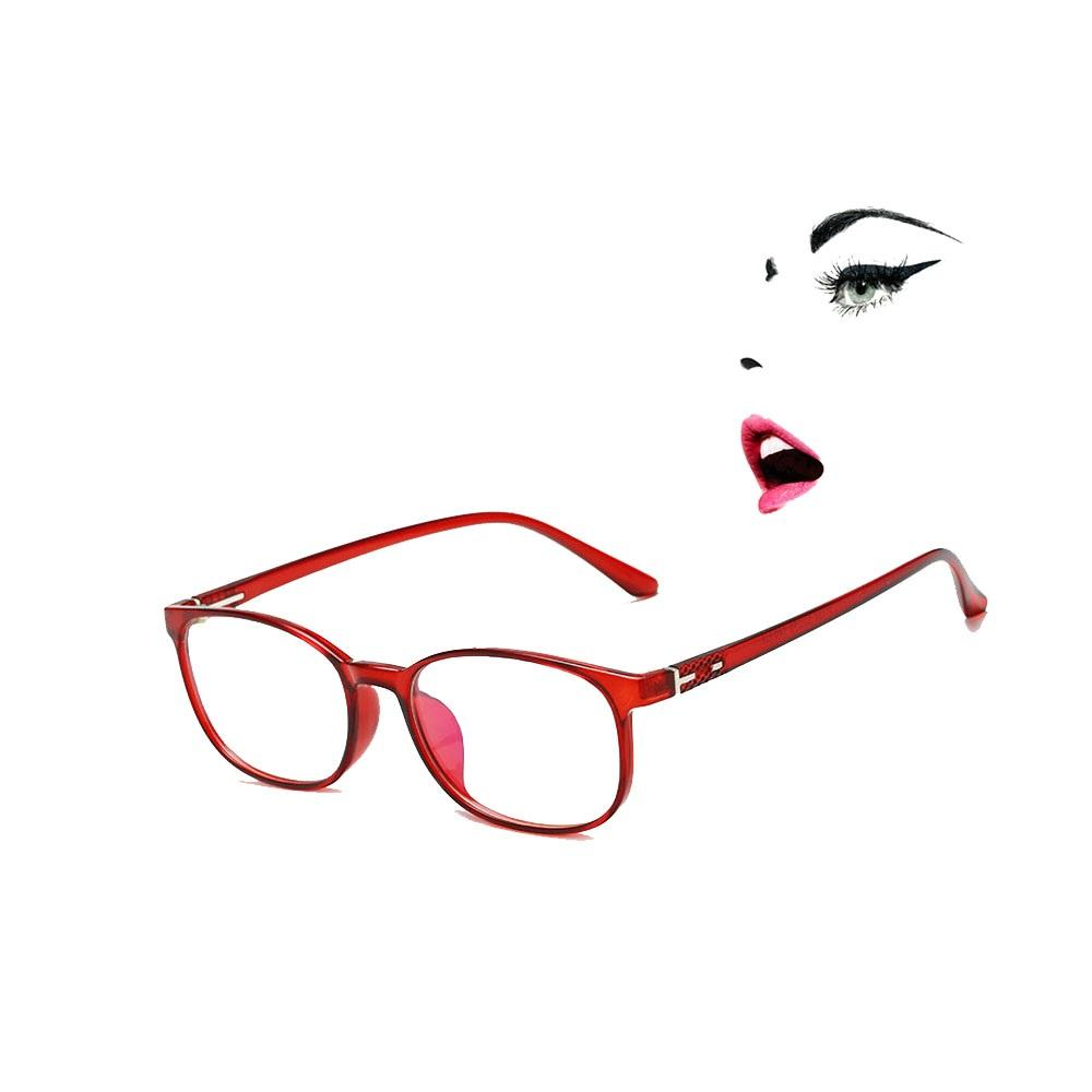 982f1c8cf2 2019 Red Glasses Frame For Lady Trendy Plastic Eyeglasses For Women Super  Light Frames Girl Comfortable Wearing Experience 11734X From Taihangshan