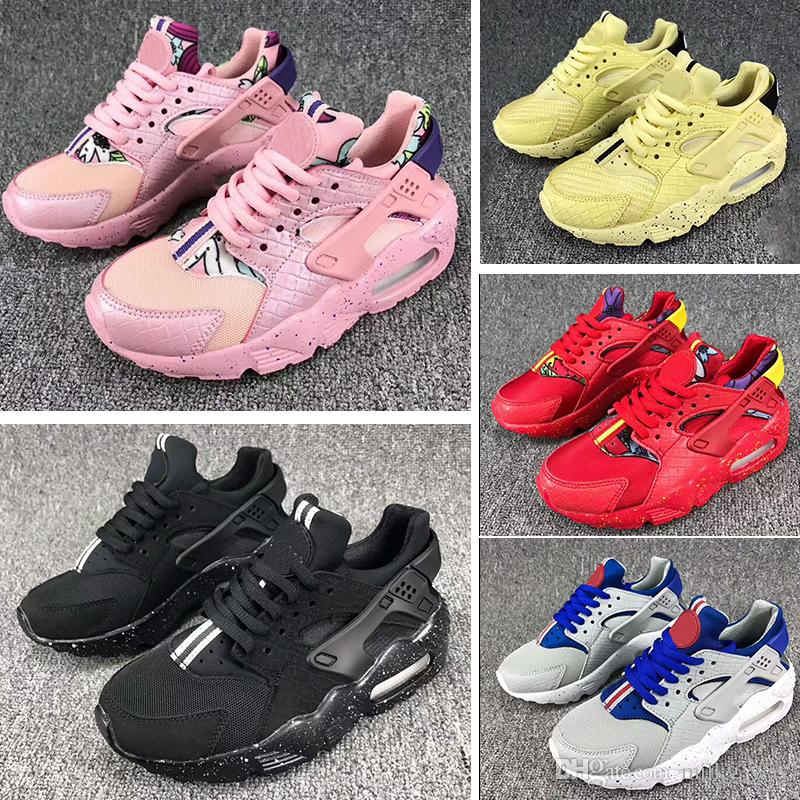8a2c8f9b3c351 Air Huarache Ultra Kids Running Shoes Infant Children Huaraches Sneakers  Huraches Designer Hurache Casual Baby Boys Girls Red Trainers 28 35 Toddler  Boy ...