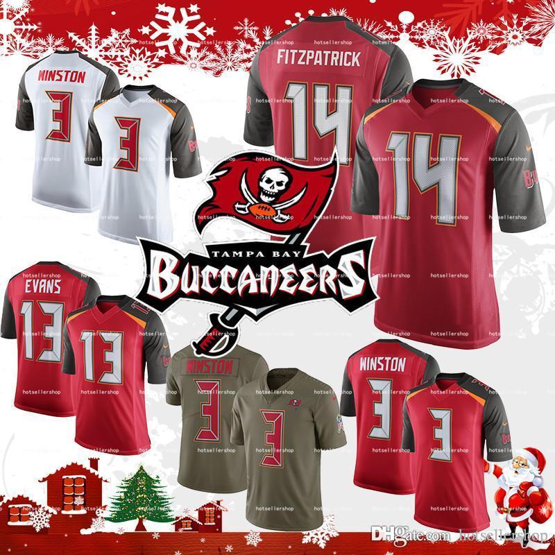 ce801b8ef3e Tampa Bay Buccaneers Jerseys 14 Ryan Fitzpatrick 13 Mike Evans ...