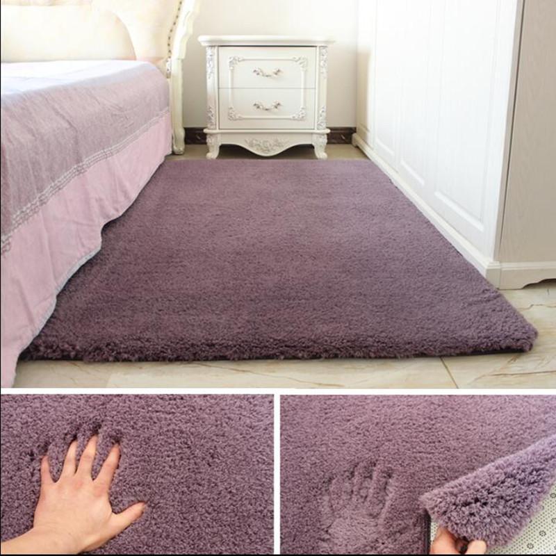 Weichen Shaggy Teppich Für Wohnzimmer Europäischen Zuhause Warme Plüsch  Boden Teppiche flauschigen Matten Kinderzimmer Kunstpelz Bereich Teppich ...
