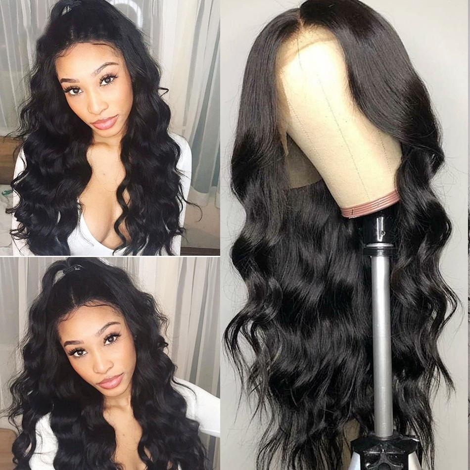 Top Quality Full Lace Black Body Wave Hair