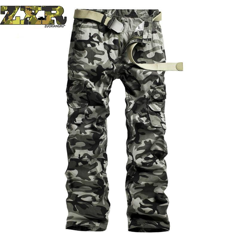 1c978a8d8daf5 2019 Mens Cargo Pants Male Tactical Pants Army Style Mens Casual Jogger Camo  Multi Pocket Baggy Straight Trousers Camouflage From Cantury, $46.32 |  DHgate.