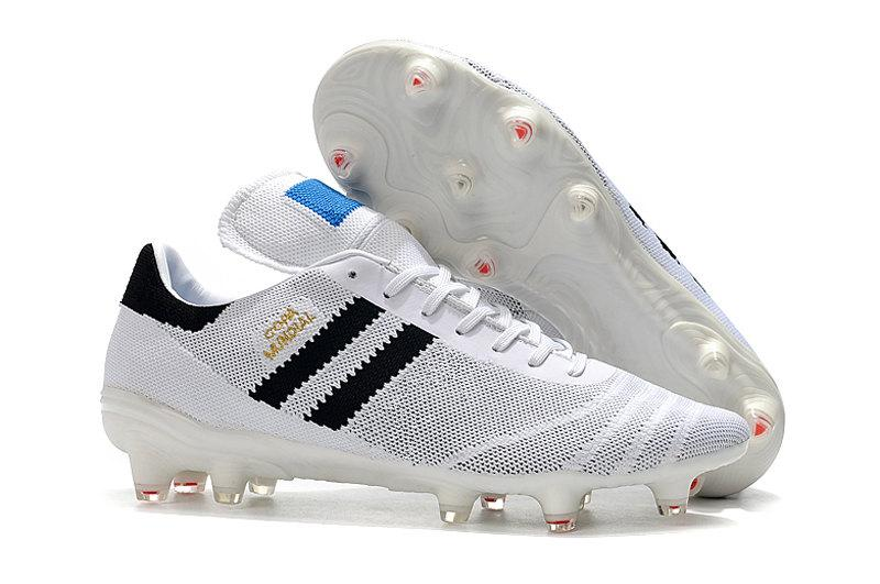 1e58bc1a 2019 Mens Copa Mundial Primeknit FG Black White Botines Futbol Soccer Shoes  70Y FG Soccer Cleats 2019 World Cup Football Boots Size 39 45 From  Bestluckone, ...