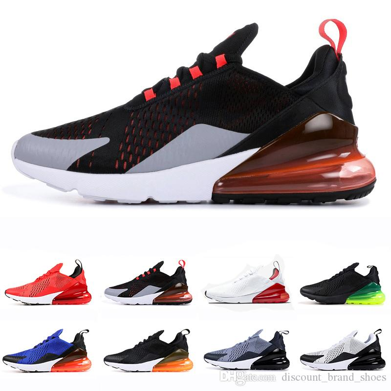 763b7f688f 270 Shoes Men Running Shoes 270s Just Do It White Black Total Orange ...