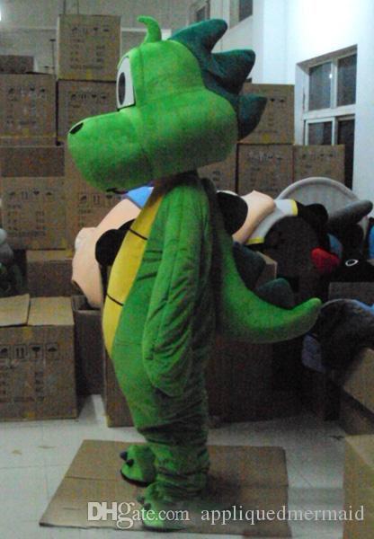 2018 High Quality Hot Yoshi Dinosaur Super Mario Mascot Costume Cute