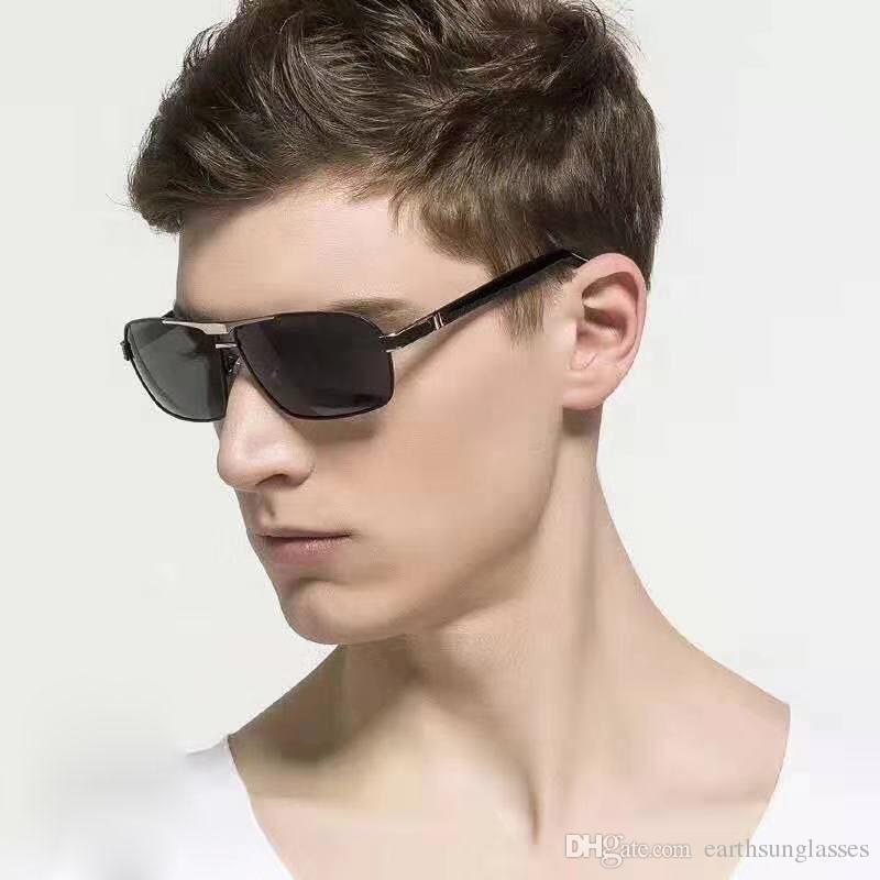 b513fab96797 722 Square Gold Rimless Eyeglasses Glasses Mens Fashion Brand ...