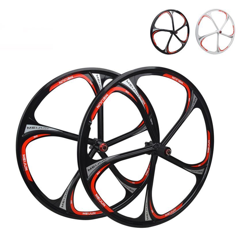 3cb03023e3f Miejan 26 Inch Bicycle Wheel Mountain Bike Magnesium Alloy Wheel ...