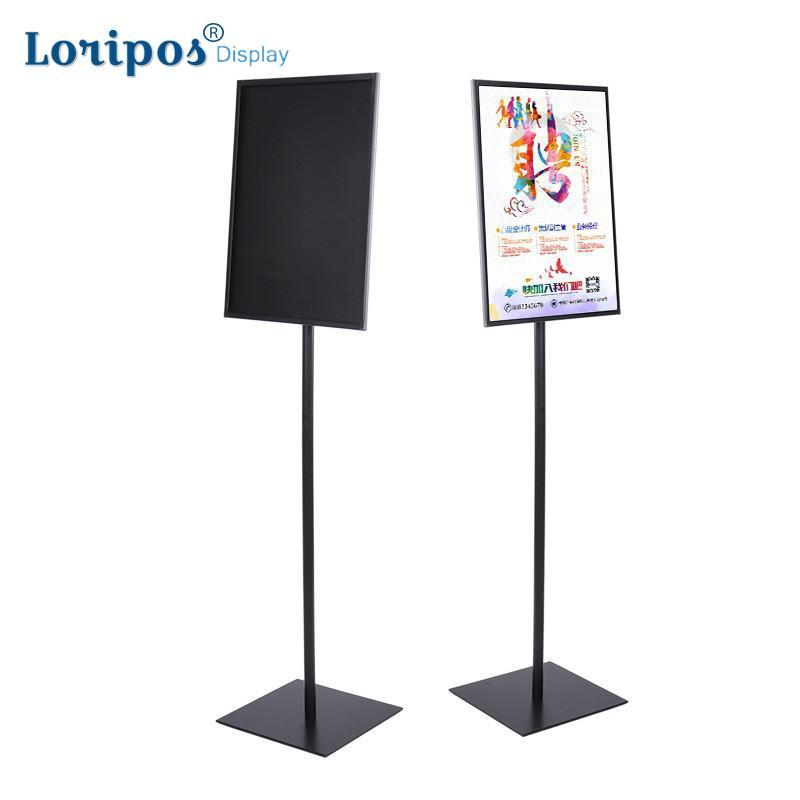 Desk Accessories & Organizer Office & School Supplies A3 Adjustable Pedestal Sign Holder Floor Stands Rack Black Acrylic Frames Advertising Banner Photo Menu Literature Display Frame