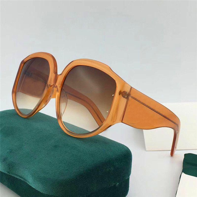 032aa85ac Compre New Designer De Moda Óculos De Sol De Grandes Dimensões Importado  Quadro De Placa Popular Estilo Simples Qualidade Superior De Cor Clara  Óculos ...