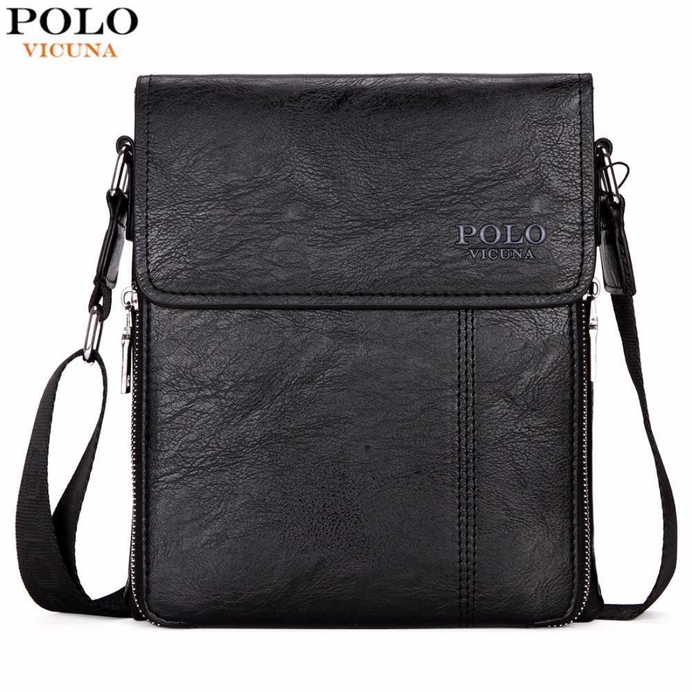 34abfa9b0e87b VICUNA POLO Brand Business Men Shoulder Bag Promotion Casual Brand Man Bag  Leather Messenger Bags Crossbody Sling Bag Hot Sell Online with   32.34 Piece on ...
