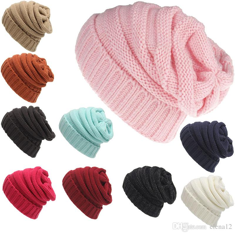 Beanies Winter Hats For Women Men Knitted Caps Woolen Hat Casual Unisex  Solid Color Hip Hop Skullies Beanie Warm Cap Cool Beanies Beanie Caps From  Elena12 e9f21ff30e91
