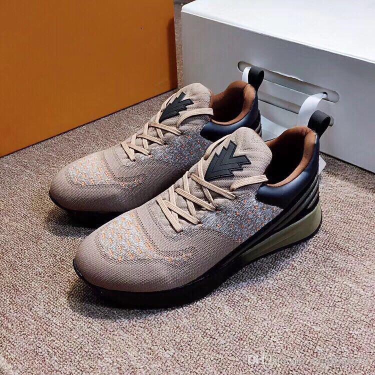 chaussures de designer chaussures de luxe Vnr taille 36 48 avec boite hommes femmes avec boite 2019 nouvelle version Running baskets