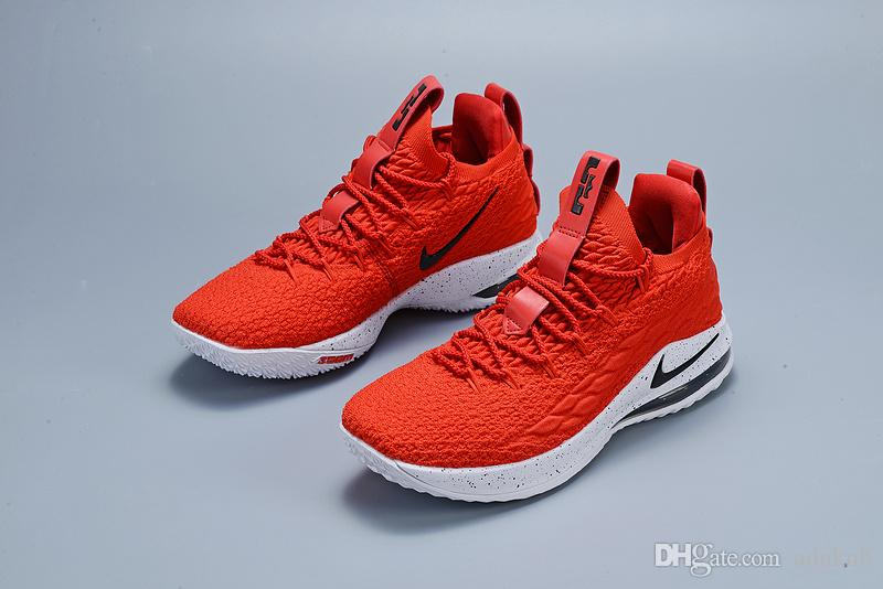 new styles 1ba95 c527a James Ashes Ghost Lebron 15 Basketball Shoes Arrival desginer Sneakers 15s  Mens Casual 15 King James sports shoes LBJ EUR 40-46 No box