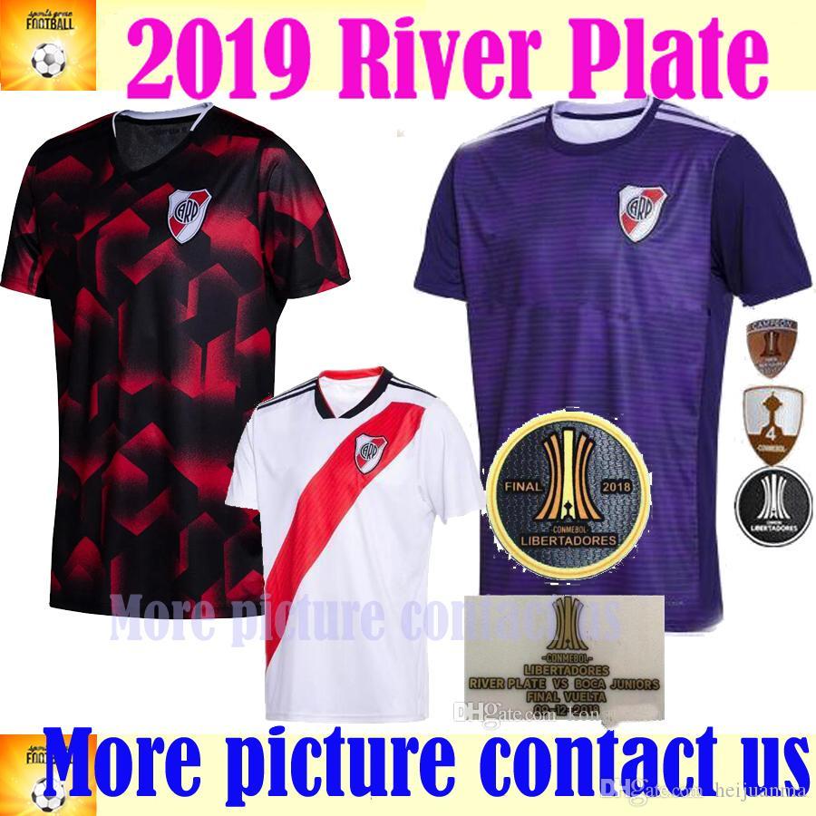 f965059bbf6 2019 4 Conmebol 2018 2019 River Plate Soccer Jerseys MARTINEZ PONZIO SCOCCO  CASCO 19/20 River Plate Home MARTINEZ PEREZ FERNANDEZ FOOTBALL Shirts From  ...