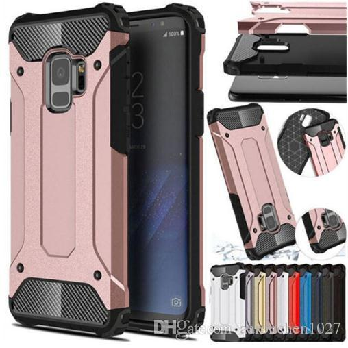 on sale e3777 37a14 Best Case For Samsung Galaxy S5 S6 EDGE S7 S8 S9 Plus Note 4 5 8 9 Hybrid  Armor Full Cover For J4 J6 J8 A6 A6S A8 Plus A7 A9 2018 Case