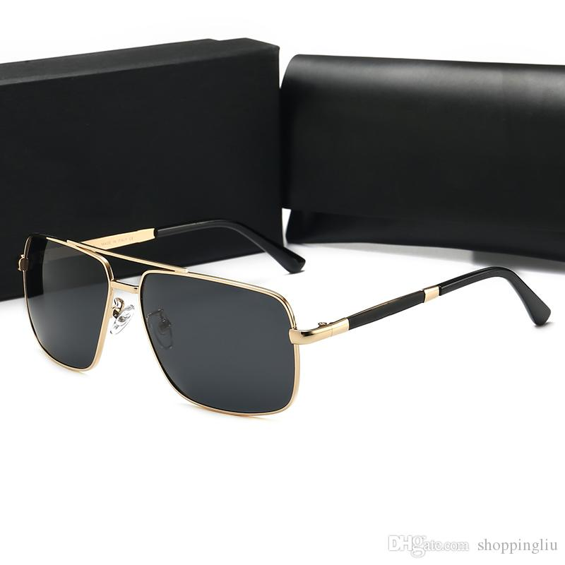 the New Sunglasses stylish high quality brand designed unisex sunglasses