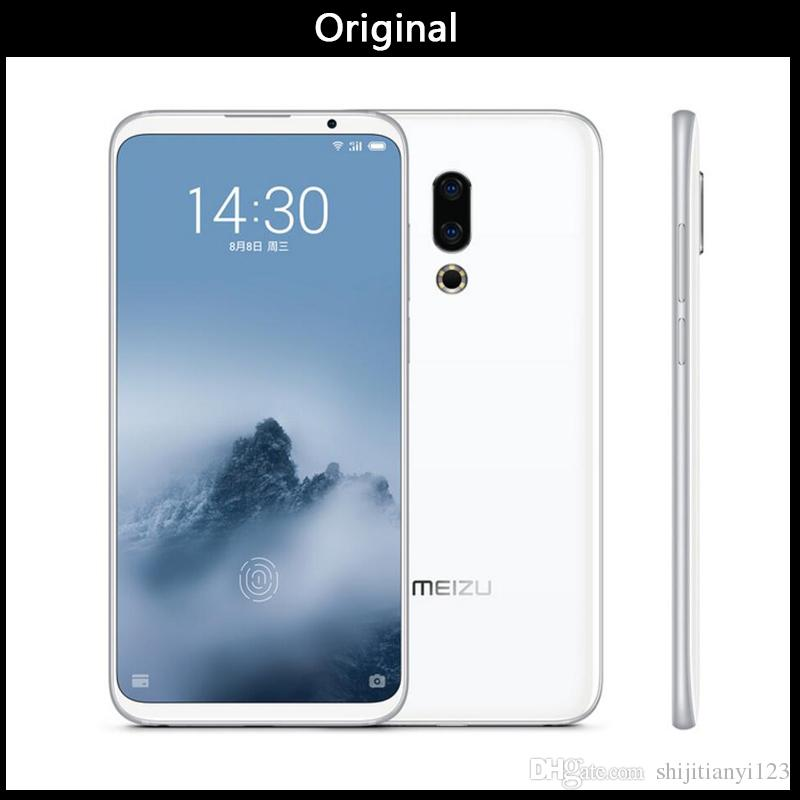 Original Meizu 16th Plus 16 Plus 4G LTE Snapdragon 845 Octa Core Adreno 630 6GB 128GB 6.5