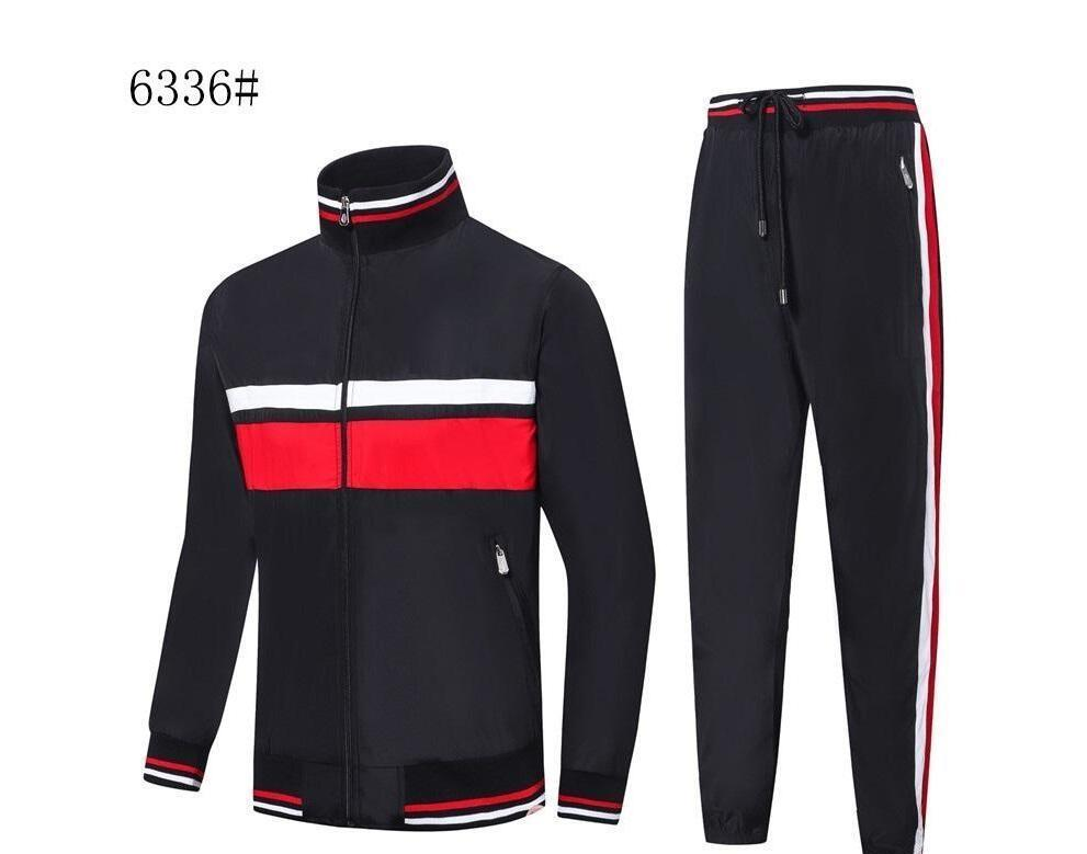 NEW Crocodile French Mens designer Tracksuits comfortable apparel jacket mens autumn winter warm jacket sports collar clothes