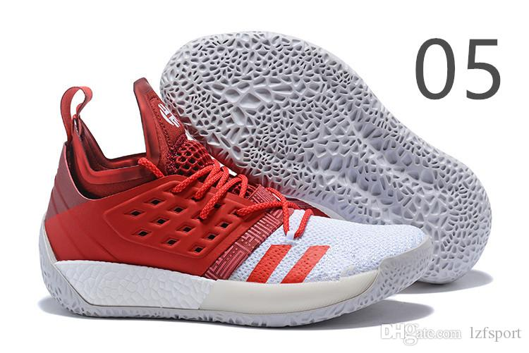 reputable site 5b67f 9b82f Cheap 2019 NEW Sale James Harden Vol 2 Basketball Shoes Black Blue White  Grey Mens Harden Vol.2 Sneakers SIZE US7-11.5 Lzfsport