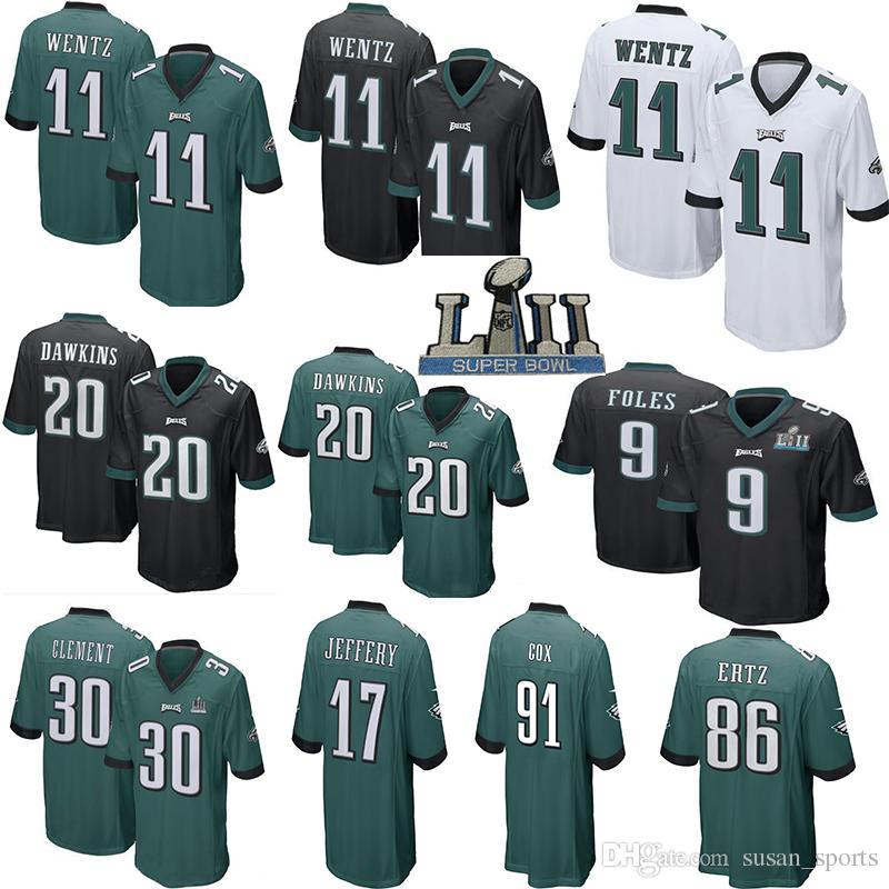 11 Carson Wentz 86 Zach Ertz 62 Jason Kelce Philadelphia Eagles