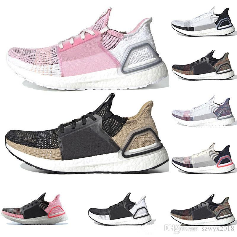 9edfcf6e4 2019 Ultra Boost 19 Men Women Running Shoes Ultraboost Laser Red Dark Pixel  Core Black Ultra Boosts 4.0 5.0 Trainer Sport Sneaker From Szwyx2018
