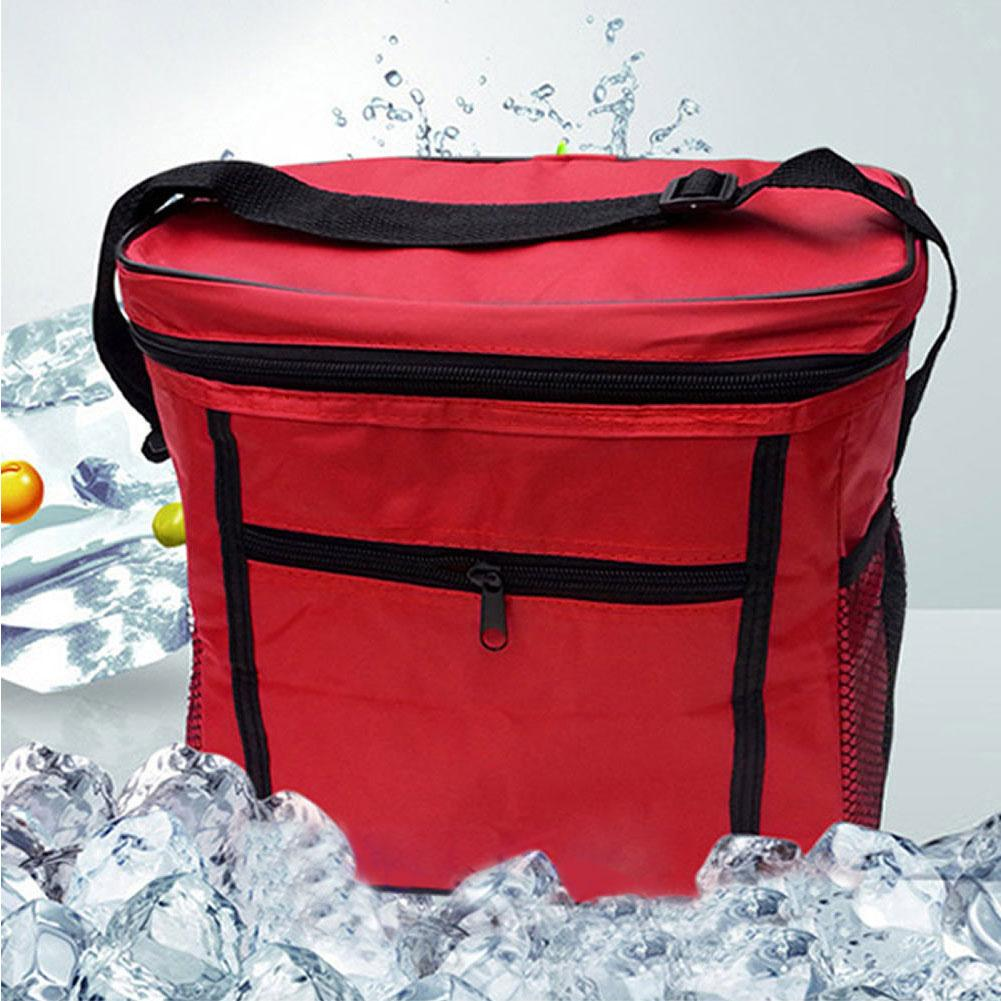 Picnic Tote Lunch Bags Thermal Cooler Waterproof Insulated Portable Tote  Picnic Lunch Bag New Wholesale Lancheira High Capacity