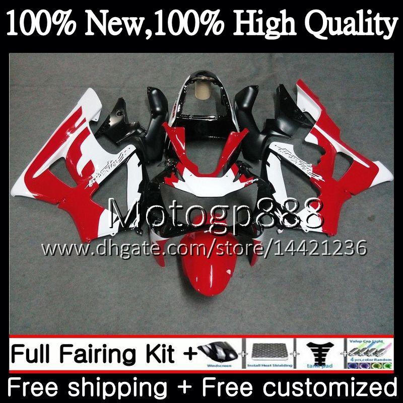 Body Red white ! For HONDA CBR900 RR CBR 929RR CBR 900RR CBR929RR 00 01 54PG15 CBR 929 RR CBR900RR CBR929 RR 2000 2001 Fairing Bodywork